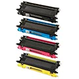 Clearprint © TN-210 / TN210 Compatible Color Toner Set for Brother MFC-9320CW, MFC-9120CN, MFC-9010CN printers, Office Central