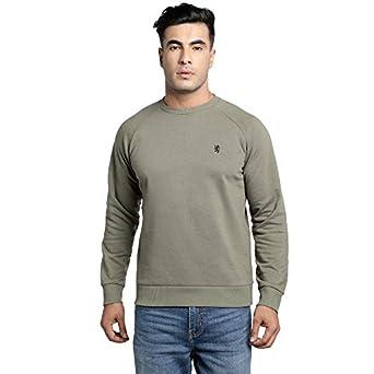 Red Tape Men Full Sleeve Blue Sweatshirt