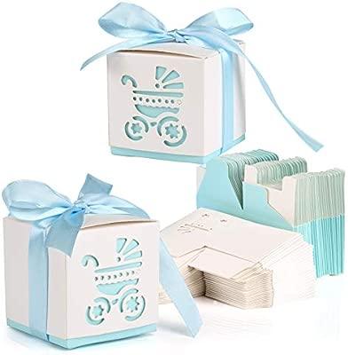 Kesote 50 Cajas de Papel para Dulces Bombones Cajas de ...