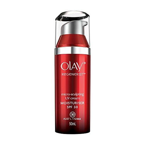 Price comparison product image Olay Regenerist Micro-Sculpting UV Cream Moisturiser SPF 30, 1.7 Ounce