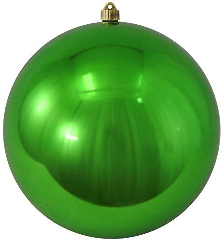 "Christmas by Krebs CBK80345 Shatterproof Christmas Ball Ornament, 12"", Limeade"
