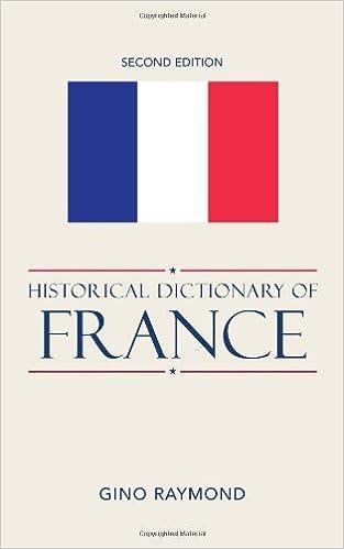 historical dictionary of france raymond gino