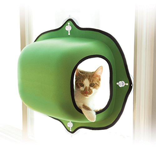 K&H Pet Products EZ Mount Window Pod Kitty Sill Green