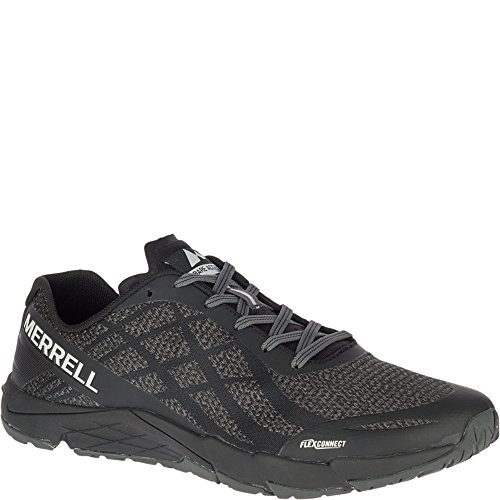 Merrell Men's Bare Access Flex Shield Sneaker, Black and Whi