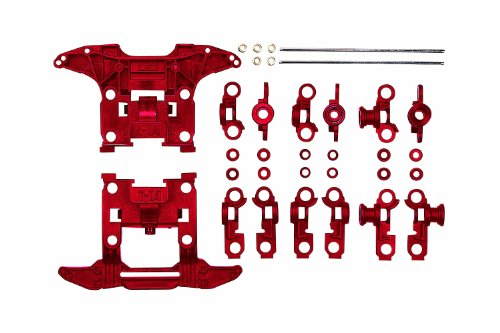 Reinforced N-04/T-04 Units (Red) Mini 4WD Grade Up Parts