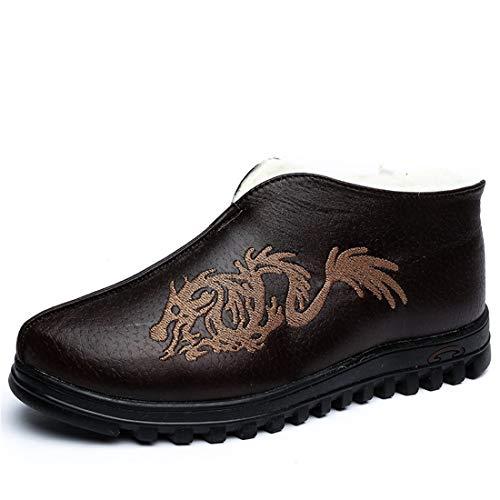 Cai Viejos Algodón Beijing Mantienen Ghh De Zapatos Masculinos B Los domestics Cálido Chino amp;hong Un Estilo rzRvqIr
