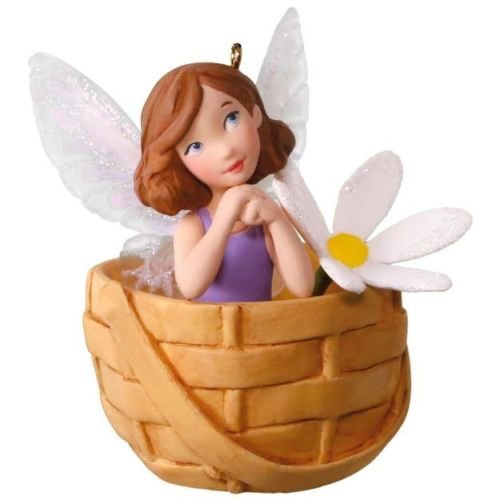 (Hallmark 2018 May Flowers # 4 in Friendly Fairy Series Ornament )