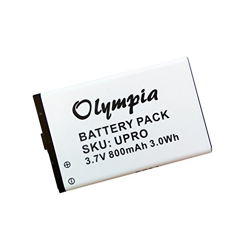 Callaway uPro Battery - Replacement Battery for Callaway uPro Go Golf GPS Range Finders, 1008000134, 30200, FS171
