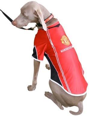 Manchester United F C Dog Shirt Large Football Gifts Amazon Co Uk Garden Outdoors