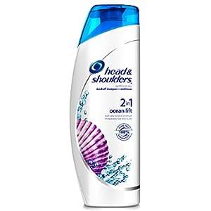 Head & Shoulders Ocean Lift 2-in-1 Dandruff Shampoo + Conditioner 13.5 Fl Oz (Pack of 2)