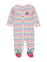 Carter's Baby Girls' Footed Coveralls