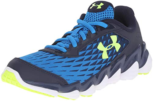 4e5939cb4df46 Galleon - Under Armour BGS Micro G Spine Disrupt Youth US 5 Blue Running  Shoe