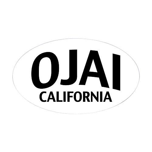 CafePress - Ojai California Sticker (Oval) - Oval Bumper Sticker, Euro Oval Car Decal