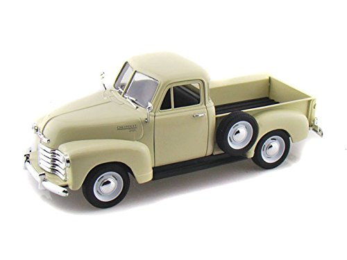 Welly 1953 Chevy 3100 Pickup Truck 1/24 Scale Diecast Model Car Cream