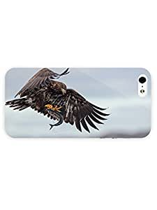 3d Full Wrap Case for iPhone ipod touch4 Animal Eagle Catching A Fish