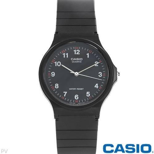 Casio MQ24-1B 3-Hand Analog Water Resistant ()