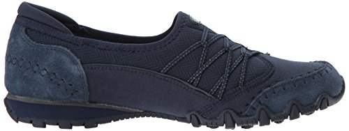 Skechers Women's Bikers Digits-Double Bungee Closure Slip-On-Relaxed Fit Sneaker Navy outlet top quality discount fashionable cheap manchester great sale clearance store cheap online clearance how much K6vlUs