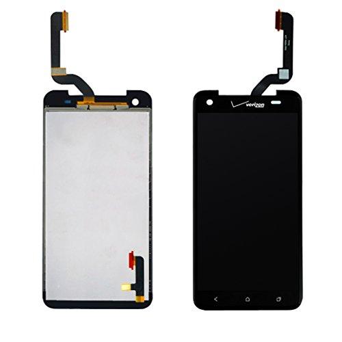 HTC butterfly Verizon Droid DNA Black lcd screen+touch panel digitizer assembly (verizon logo) ~ USA