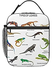 Primitive Reptile Lunchbag Durable Lunch Box Reusable Adults Lunch Container