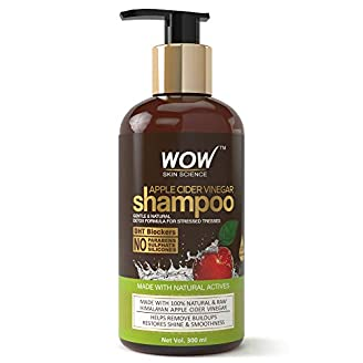 WOW Apple Cider Vinegar No Parabens & Sulphate Shampoo India 2020