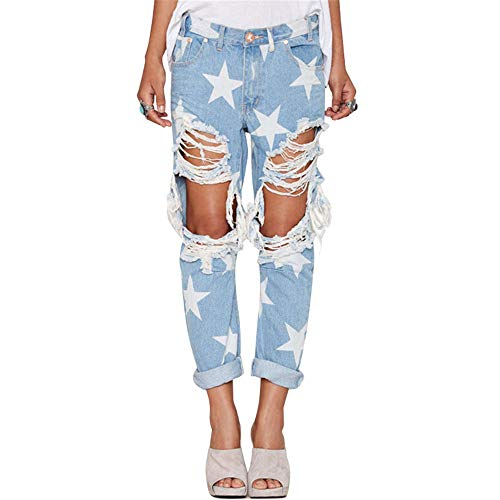 Ripped Jeans With High...