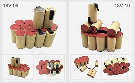 Amazon.com: Paquete de baterías (personalizable) SC Ni MH ...