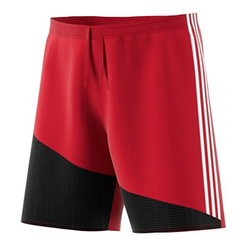 Adidas Regista 16 Mens Soccer Short L Power Red-White-Black by adidas
