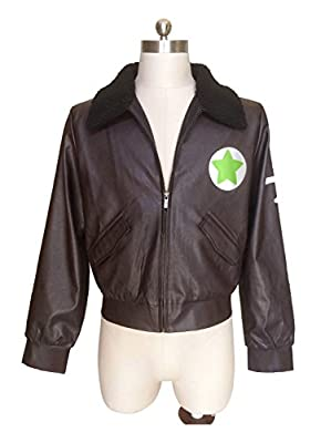 Dazcos Unisex Axis Powers Hetalia America Cosplay Jacket Chocolate