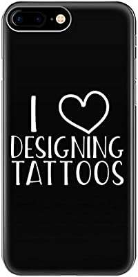 Amazon.com: I Love Designing Tattoos Creative Nice Design Typography ...