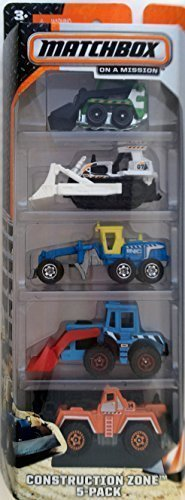 (Matchbox On A Mission - Construction Zone-5 Pack)