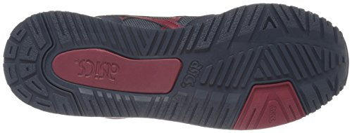 ASICS Men's Gel-Classic Fashion Sneaker, India Ink/Burgundy, 4.5 M US