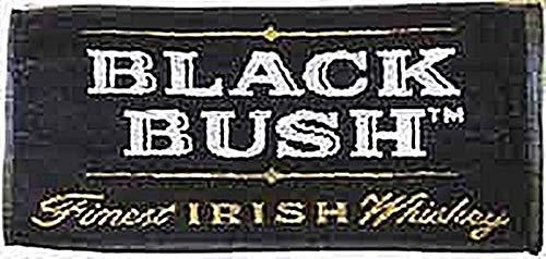 Black Bush Irish Whiskey Cotton Bar Towel 20