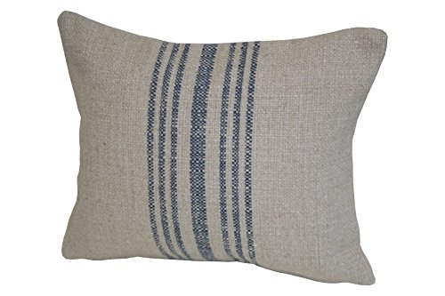 Rennie & Rose Hobie Stripe Lumbar Pillow, Blue