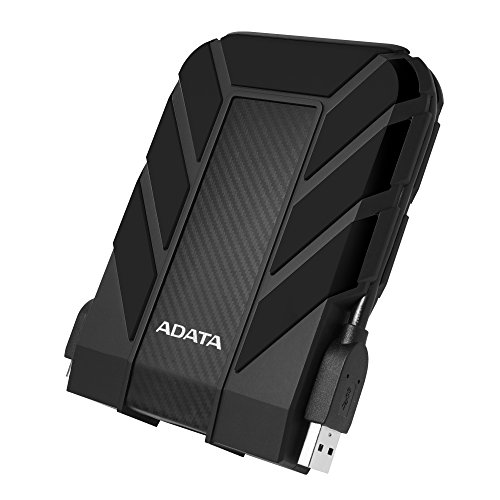 ADATA HD710 Pro 1TB USB 3.1 IP68 Waterproof/Shockproof/Dustproof Ruggedized External Hard Drive, Black (AHD710P-1TU31-CBK)