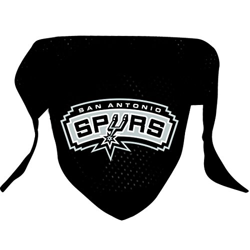 Hunter MFG San Antonio Spurs Mesh Dog Bandana, Small