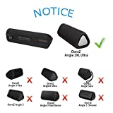 LTGEM Case for Cambridge SoundWorks OontZ Angle 3XL or 3XL Ultra Portable Wireless Large Bluetooth Speaker with Mesh Pocket for