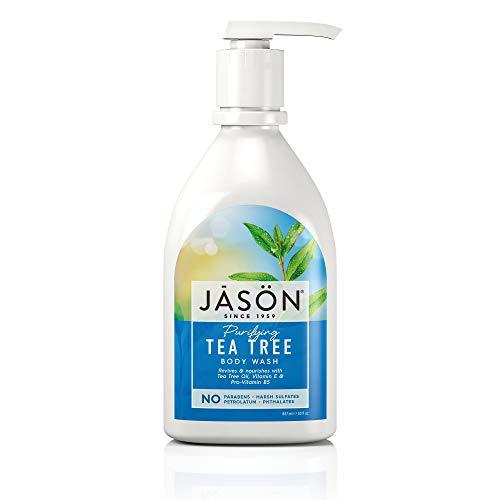 Jason Tea Tree Body Wash, 30 oz (Jason Tea Tree Hand Soap)