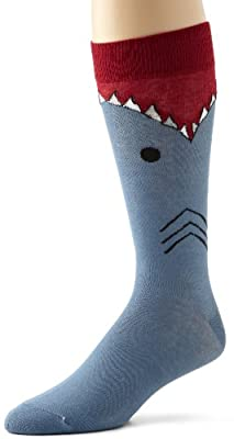 K. Bell Men's Shark Socks
