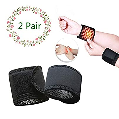 Magnetic Wrist Brace Magnetic Therapy Wrist Support Wristband for Stress amp Pain Relief Adjustable Protective Wrist Wraps Improve Blood Circulation Pair Estimated Price £5.33 -