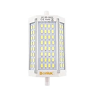 Bonlux LED R7S 30W J118 Dimmable Ampoule Doublé Extrémités Blanc Chaud 3000k 118mm 64 x 5730 SMD Remplacement de 300W R7S Ampoule Halogène