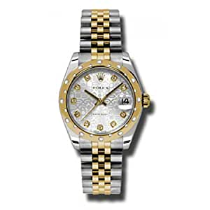 Rolex Datejust Silver Dial Women's Watch 178343