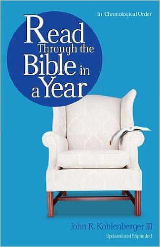 Read Through the Bible in a Year: John R Kohlenberger III