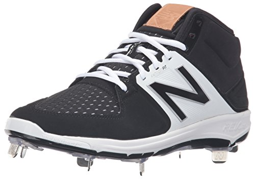 New Balance - M3000v3 scarpe da baseball, da uomo da uomo Black/White