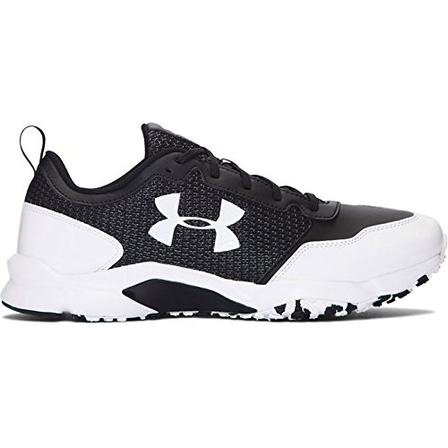 Under Armour Men's UA Ultimate Turf Trainer Black/White 12 D US by Under Armour