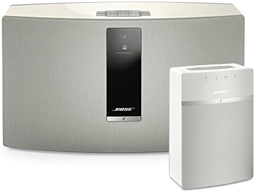 Bose SoundTouch 30 and 10 Wireless Music System Bundle 2-Pack White