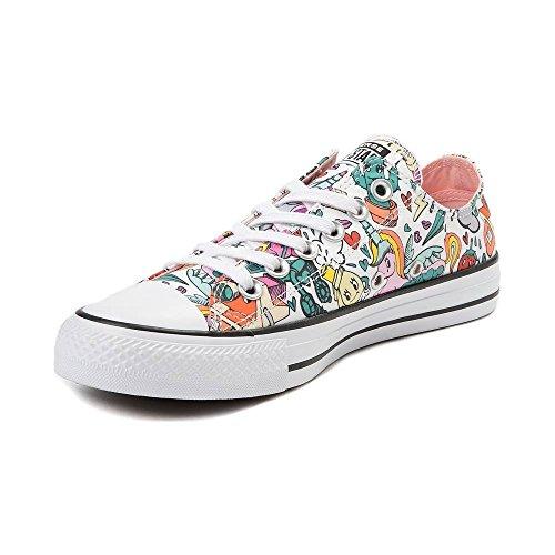 Unisex White 9590 Pop multi Retro Sneaker All Converse Zapatillas Star Hi wIBIF7