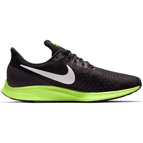 Nike Men's Air Zoom Pegasus 35 Running Shoe Black/White/Burgandy Ash/Lime Blast Size 8 M US ()