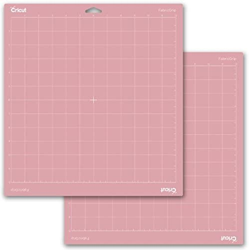 Pink Fabric GripMat and Beginner eGuide Broad-Tip Tweezers Cricut Maker Machine Brayer