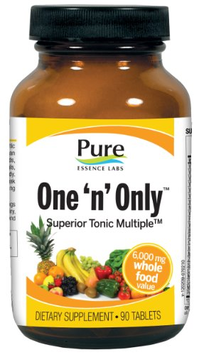 Pure Essence One 'N' Only, Superior Tonic Multiple, Tablets, 90-Count