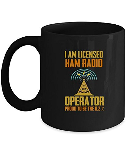 Amazing Mugs For Ham Radio Operator. Best Fathers Day Gifts For Dad. ()